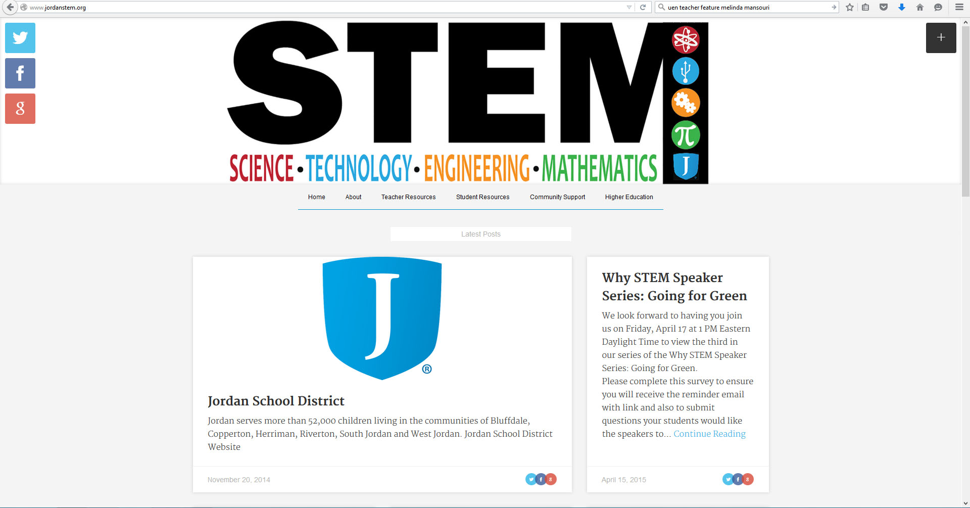 Stem Website